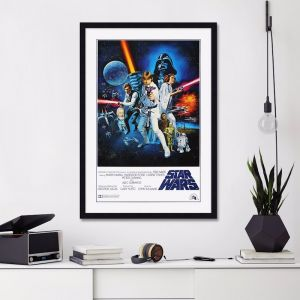 Star Wars A New Hope 1977 Style C | Unframed Art Print