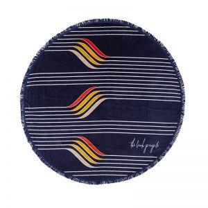 Starboard Roundie | Round Towel
