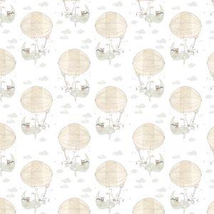 Stargazer White Wallpaper