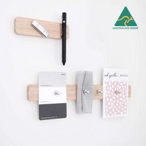 Stationary Organiser | Wooden Magnetic Wall Organiser