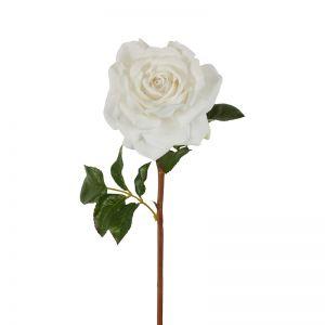 Stella Real Touch Rose Stem | White | 50cm | 6 Stems