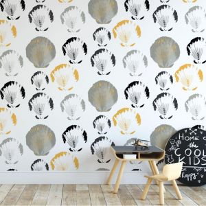 Step Outa Ya Shell - Nature's Child | Eco Wallpaper | Amba Florette