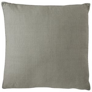 Stitch Cushion | Large | Natural with Black Stitch