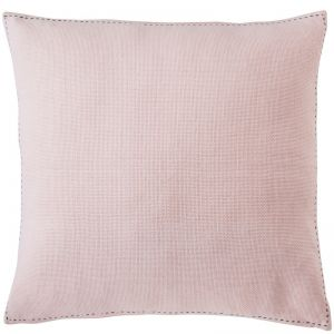 Stitch Cushion | Large | Pink with Slate Stitch