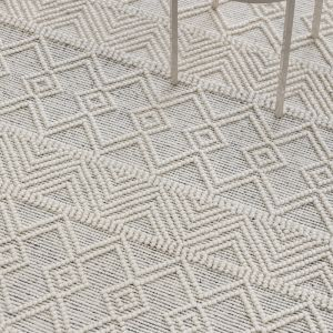 Stitch Memphis Rug   Ivory - Pre Order Mid to late August 2021 ETA