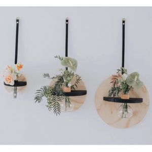 STIX AND FLORA // Black Hoopla Vase