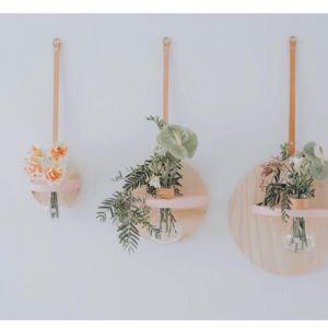 STIX AND FLORA // Pink Hoopla Vase
