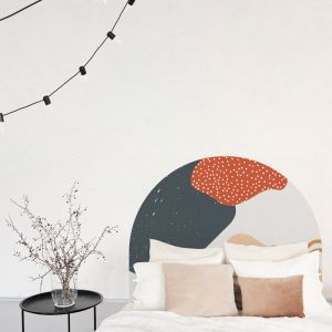 Stone Cenote | Reusable Decal Headboard