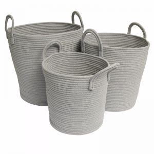 Storage Baskets | Grey - Medium