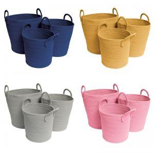Storage Baskets | Mustard - Small