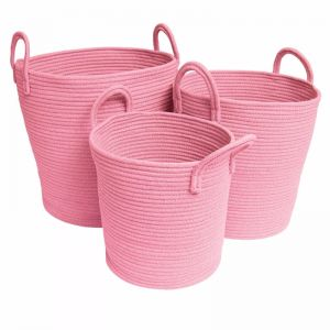 Storage Baskets | Pink - Small