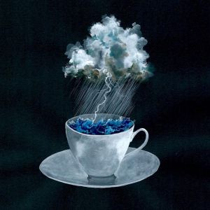 Storm in a teacup | Original Watercolour Artwork