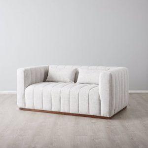 Storme 2 Seater Sofa | Fabric | Cream Multi