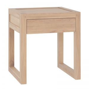 Strand Pedestal Bedside Table | by Uniqwa Collections