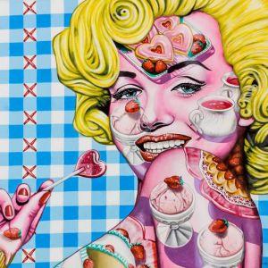 Strawberries Forever by Laural Retz   Original Artwork   Art Lovers Australia