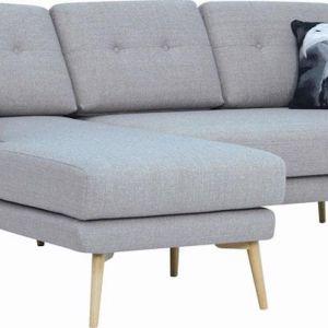 Stream 3 Seater Sofa With Left Chaise | Timberwolf | Royaal Range