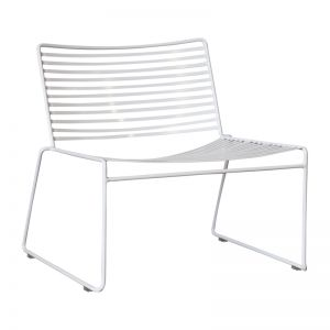 Studio Wire Lounge Chair | White