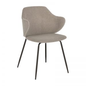 Suanne Chair | Light Grey/Beige