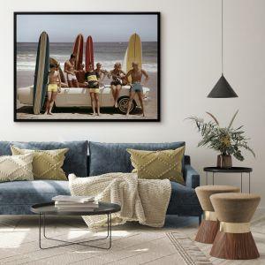 Summer Beach Ride II   Canvas Print