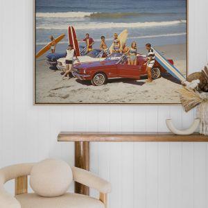 Summer Beach Ride III   Canvas Print
