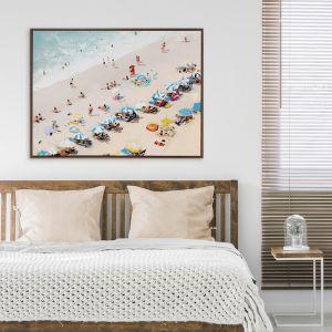 Sunbathers   Canvas Print