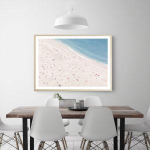 Sunbathers Premium Art Print (Various Sizes)