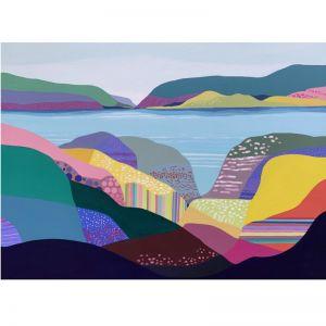 Sunday Beach by Greta Laundy   Original Artwork   Art Lovers Australia
