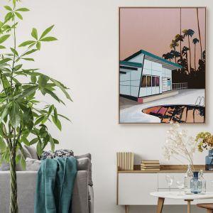 Sunset Drive | Canvas Print