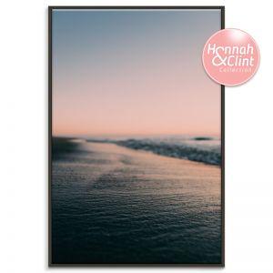 Sunset Place | Framed Canvas Print | SALE