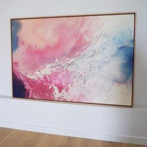 Sunset Storm Canvas Print | Framed