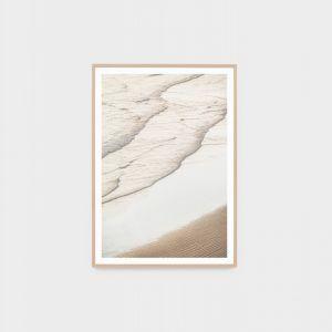 Sunset Waves | Framed Photographic Print