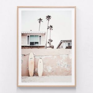 Surf Town | Framed Print | 41 Orchard