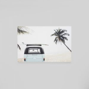 Surfers Escape | Framed Canvas