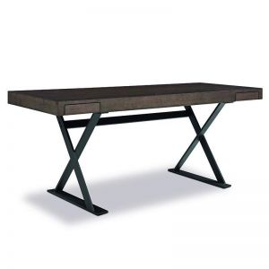 Suri Computer Desk | 180cm | Black Oak | Modern Furniture