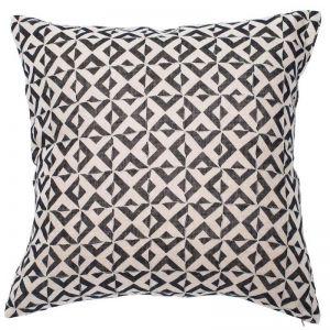 Surry Cushion | Black/Natural