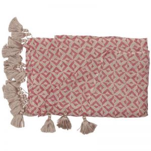 Surry Throw | Dusty Rose/Natural