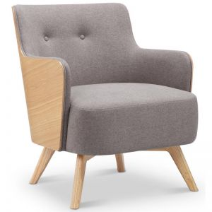 Suvi Lounge Chair | Ash + Grey | Modern Furniture