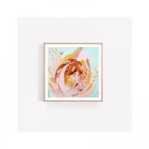 Suzanne Protea Deconstructed Fine Art Print | Unframed