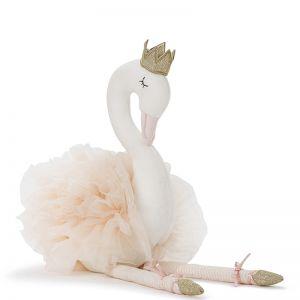 Swan Plush Dolls | Large Pink
