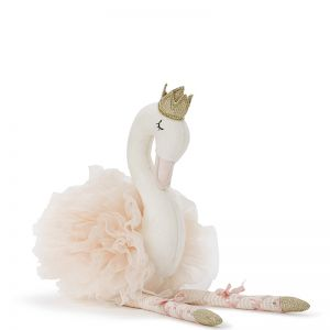 Swan Plush Dolls | Small White