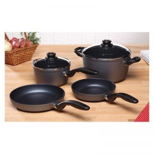 Swiss Diamond 6 Piece Non Stick Cookware Set