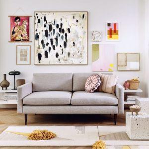 Swyft | Model 01 Linen 2 Seater Sofa | Pumice