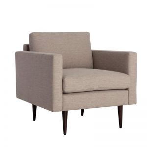 Swyft | Model 01 Linen Armchair | Pumice - PRE SALE 10% OFF