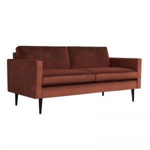 Swyft | Model 01 Velvet 2 Seater Sofa | Brick