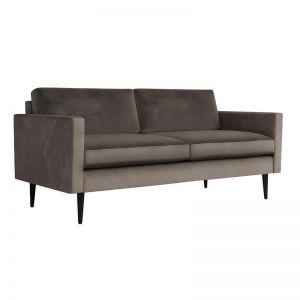 Swyft | Model 01 Velvet 2 Seater Sofa | Elephant