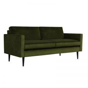 Swyft | Model 01 Velvet 2 Seater Sofa | Vine