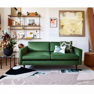 Swyft | Model 01 Velvet 2 Seater Sofa | Vine | Pre Sale