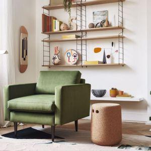Swyft | Model 01 Velvet Armchair | Vine