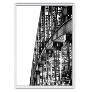 Sydney Harbour Bridge Framed Canvas Print