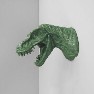 T-Rex Head Wall Mount | Green
